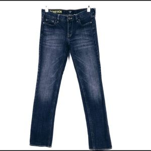 J. Crew Factory Stretch Matchstick Straight Jeans